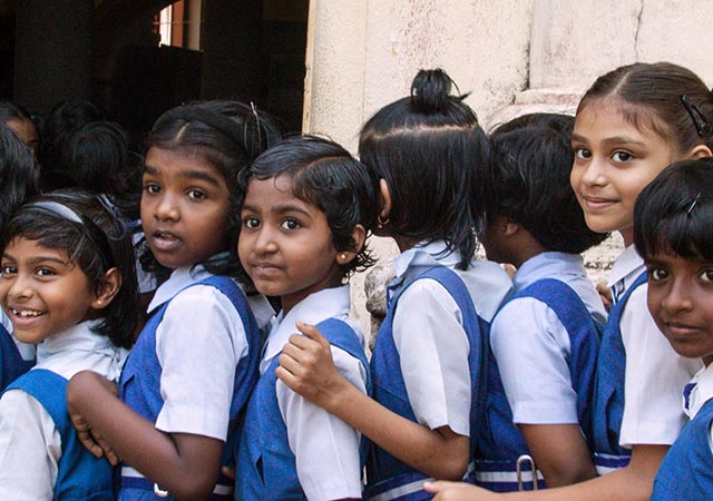 Dalit School Children