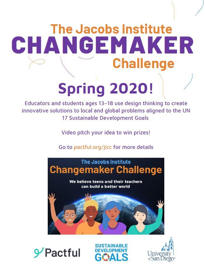 Changemaker Challenge Flyer
