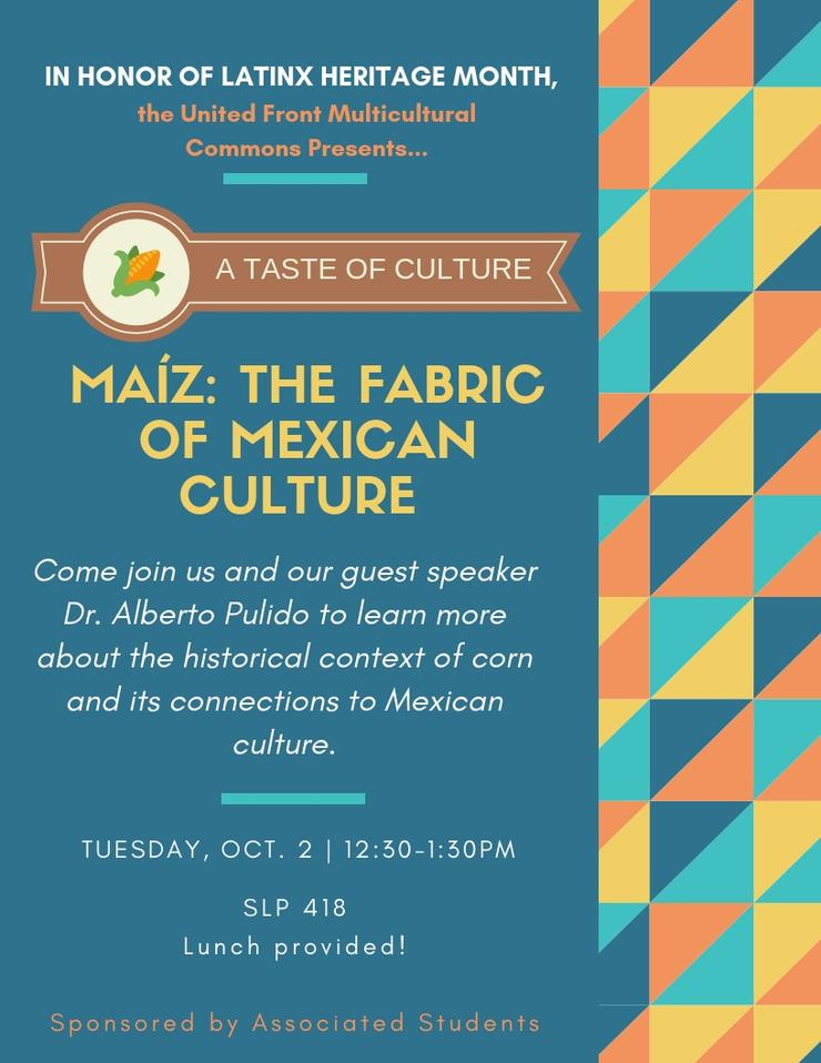 A Taste of Culture Flyer