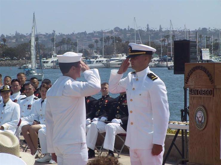 NROTC Commissioning Ceremony