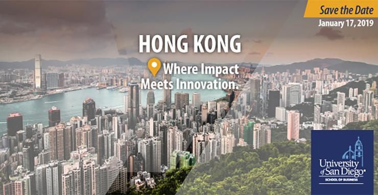 The USD School of Business will host a 7-By-7 event in Hong Kong on January 17. Seven alumni from USD will share their inspiring stories. Free to attend, but RSVP required.
