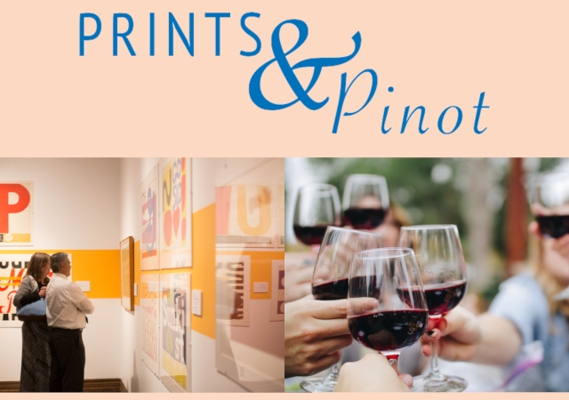 Prints & Pinot graphic