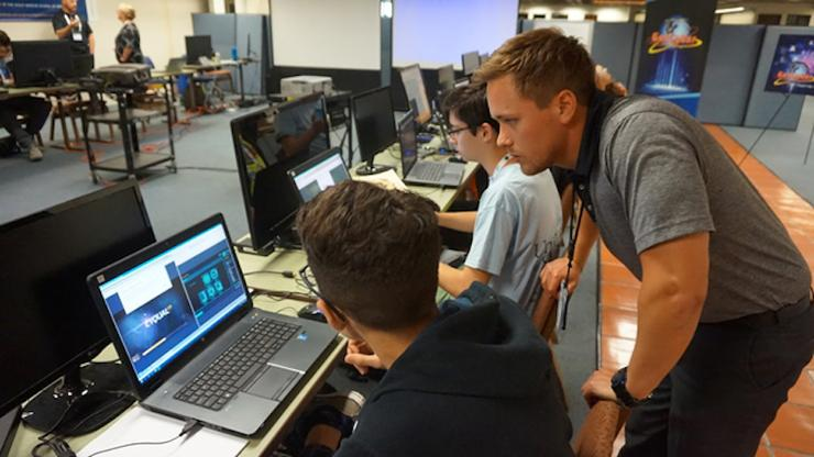 Cyber summer training at USD