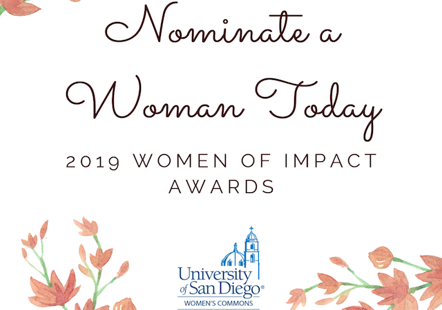 Nominate a Woman Today! 2019 Women of Impact Awards