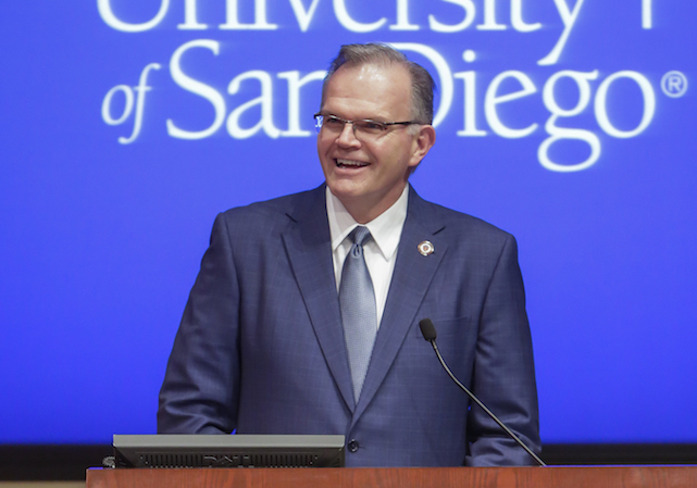 Dr. Harris at the President's Forum