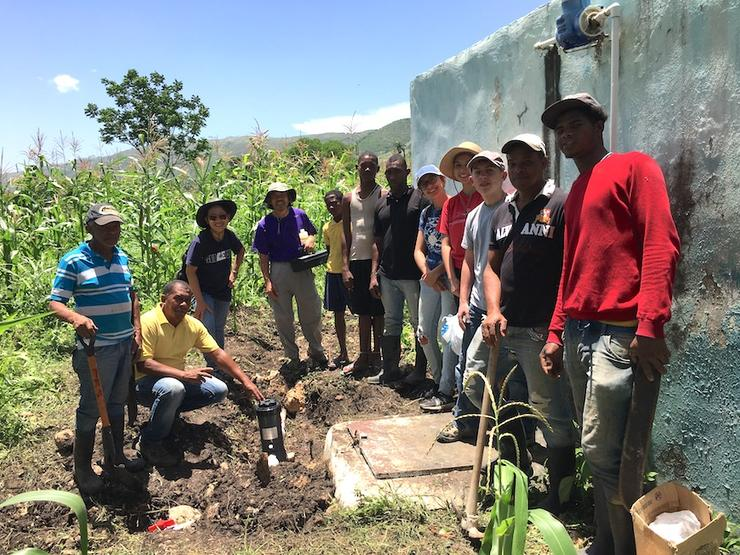 Dr. Ngo leads humanitarian trip to Dominican Republic.