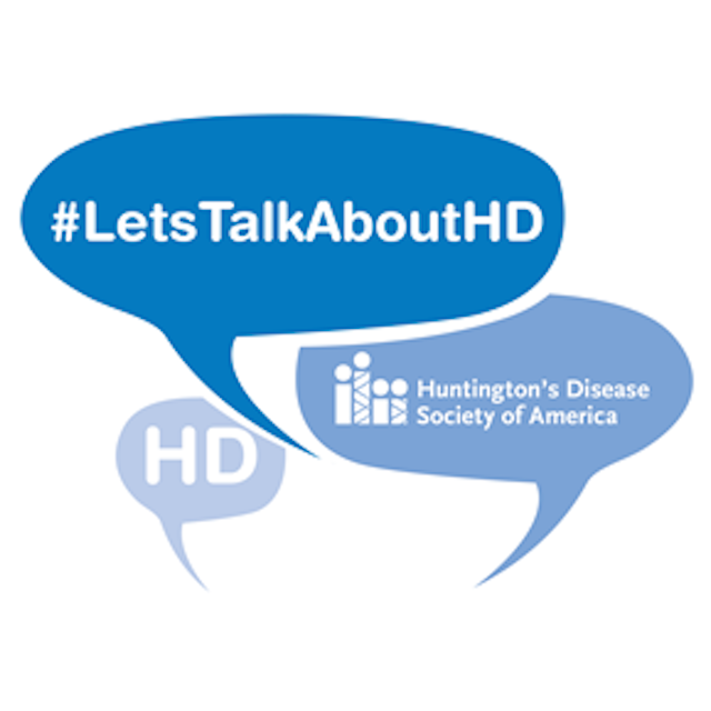 #Let's talk about HD - Huntington's Disease Society of America