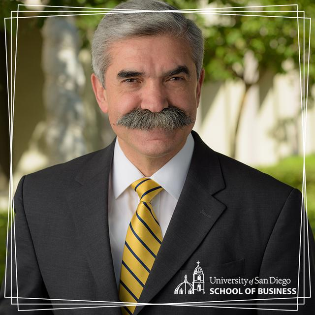 USD School of Business Dean Jaime Alonso Gomez