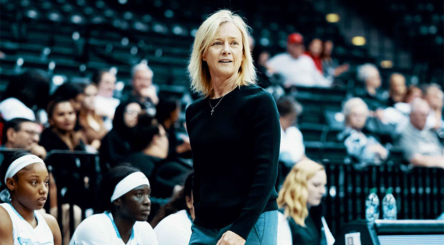 Veteran USD Women's Basketball Head Coach Cindy Fisher weighs in on several topics as she prepares her team for the start of the 2020-21 season.
