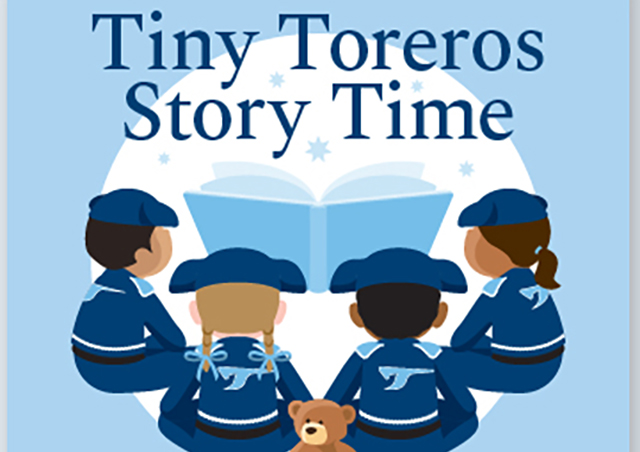 Tiny Toreros Story Time