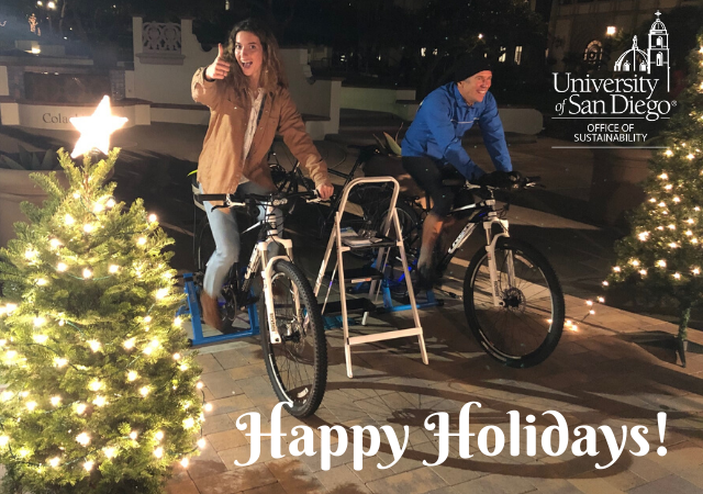 Happy Holidays from the Office of Sustainability