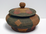 Mission Indian School basket