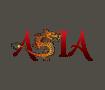 Asia word art
