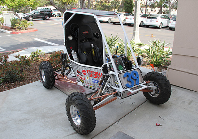 SAE Baja vehicle