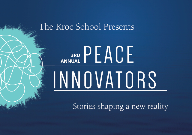 3rd annual Peace Innovators - Stories Shaping a New Reality