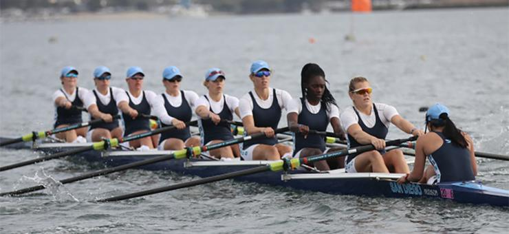 The USD women and men's rowing teams competed well at the 45th San Diego Crew Classic this past weekend.