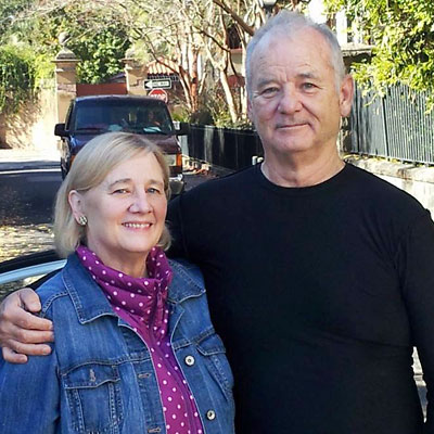 Sister Nancy Murray with actor brother Bill Murray