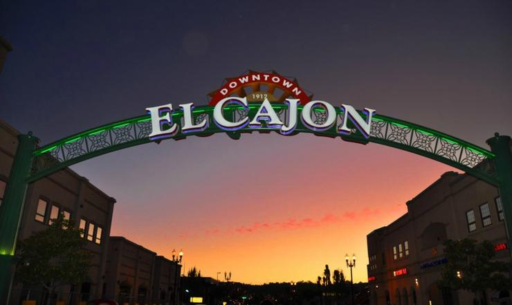 city of el cajon archway