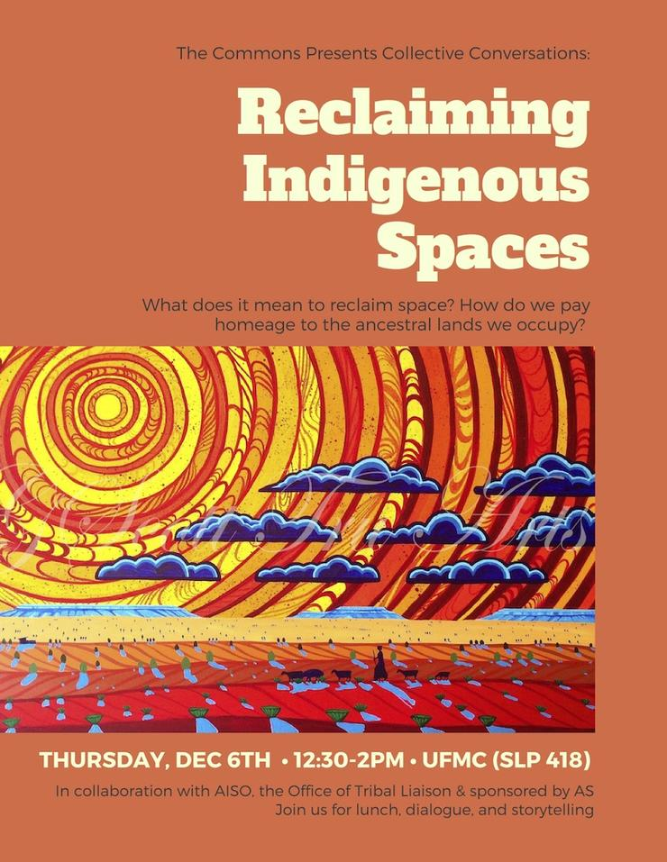 The Commons Presents Collective Conversations: Reclaiming Indigenous Spaces