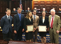 Members of the USD Moot Court Team