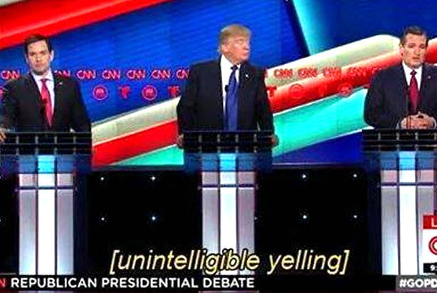 CNN GOP Debate results in