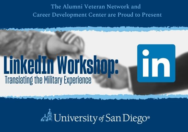 LinkedIn Workshop: Translating the Military Experience icon