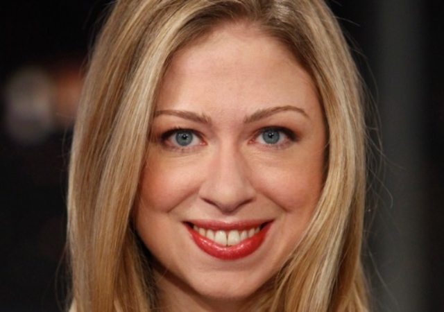 Headshot of Chelsea Clinton