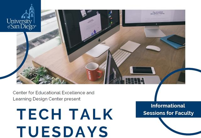 CEE and LDC present Tech Talk Tuesdays