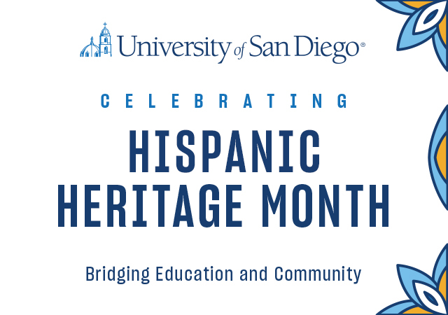 Image that says Celebrating Latino Heritage Month, Bridging Education and Community