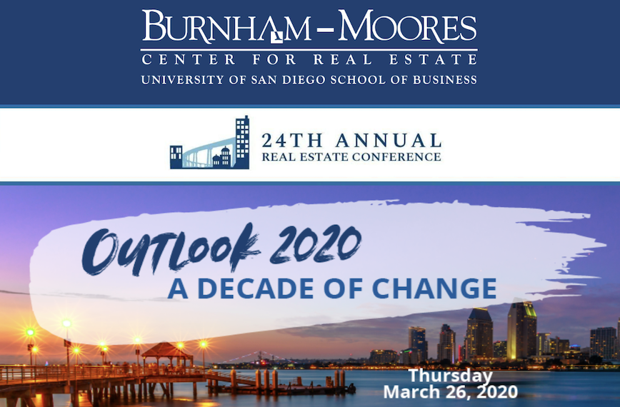24th Annual Real Estate Conference: Outlook 2020, A Decade of Change
