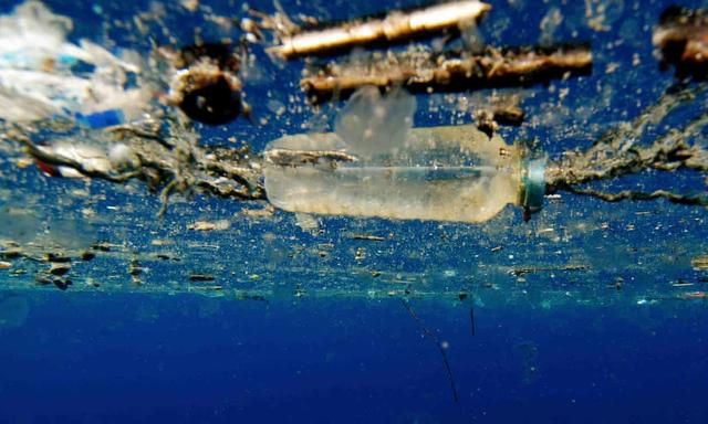 As well as a ban on items such as plastic straws, the proposed directive would require 90% of plastic bottles to be recycled by 2025. Photograph: David Jones/University of Portsmouth