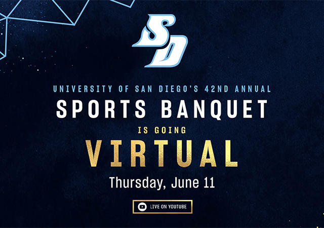 USD Sports Banquet June 11 Live on YouTube