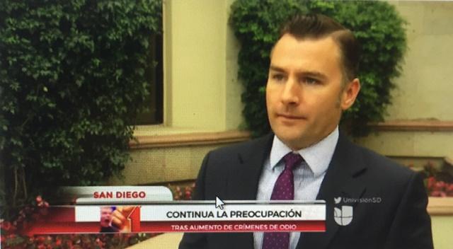 Ev Meade on Univision