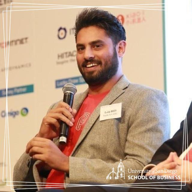 Alumnus Deep Bedi �11 represents PayMe as Chief Product Officer