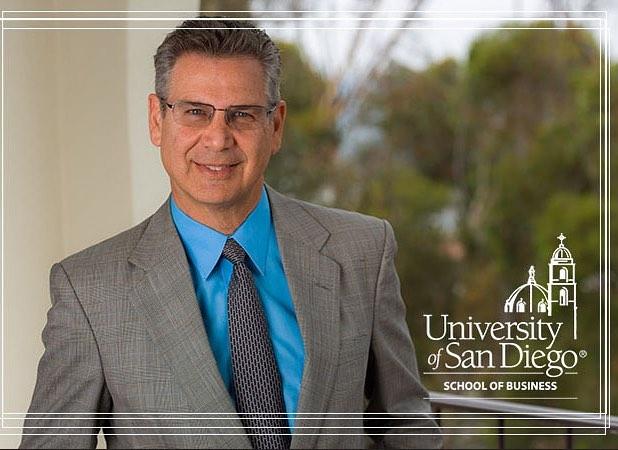 USD professor of real estate, Norm Miller, PhD