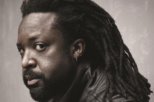 headshot of Marlon James