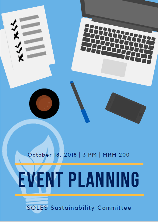 Event Planning Flyer