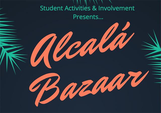 SAI presents: Alcalá Bazaar
