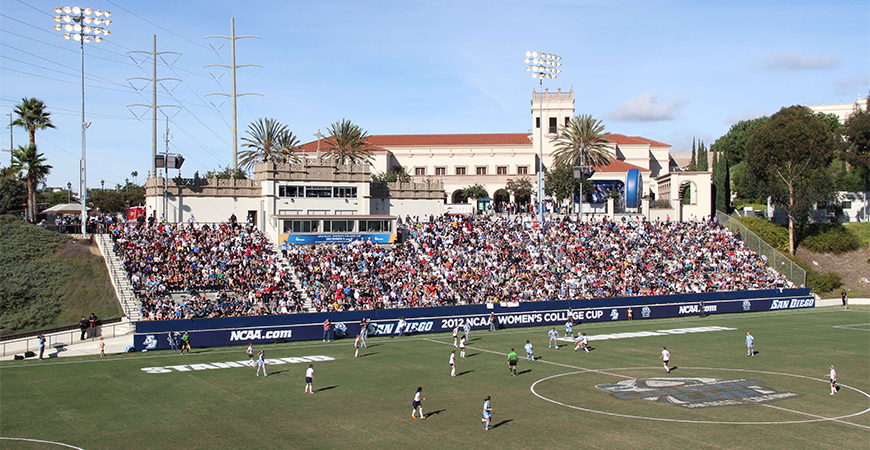 Torero Stadium is home to San Diego Loyal, Legion Pro Teams