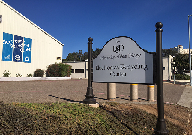 Electronic Recycling Center at USD