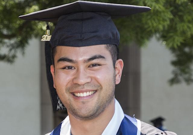 Anthony Shao Valedictorian