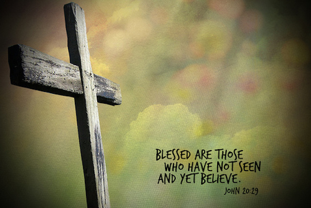An image of a cross with scripture text
