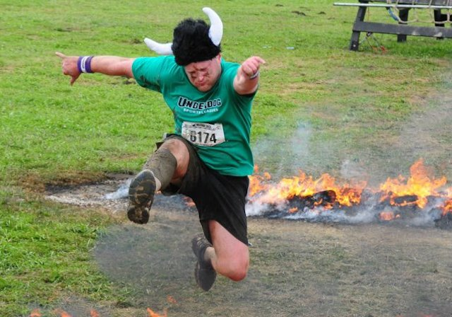 Andrew Putnam at Warrior Dash