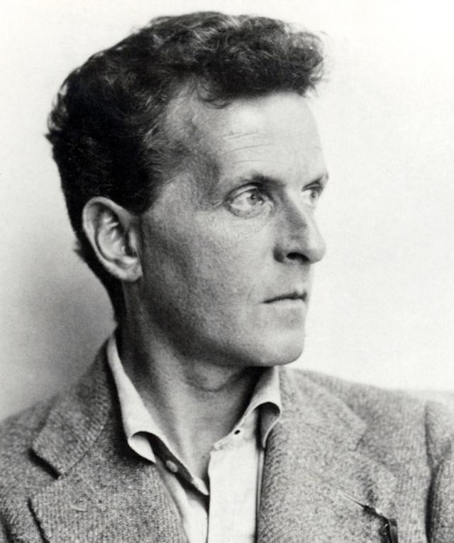 headshot of Wittgenstein