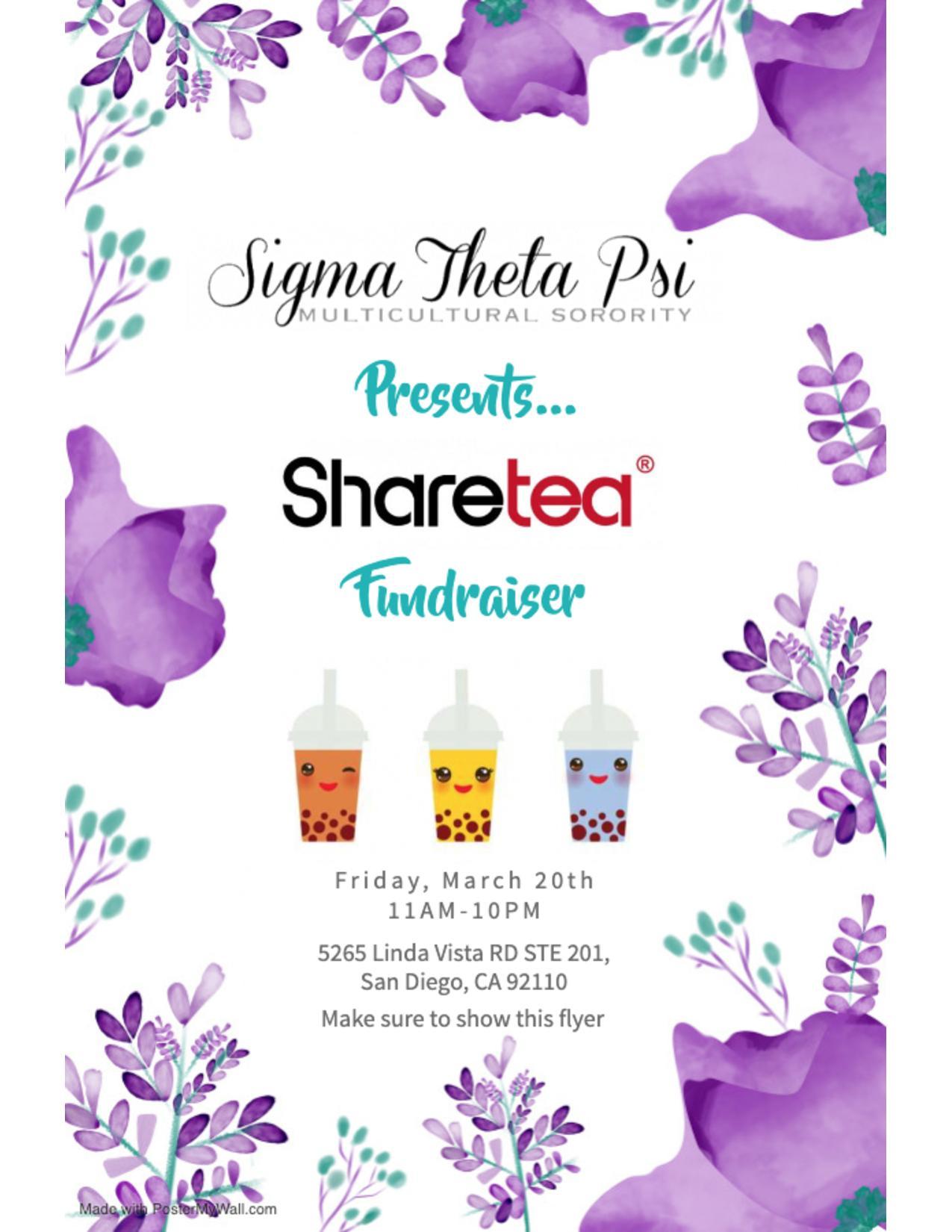 Sharetea Fundraiser