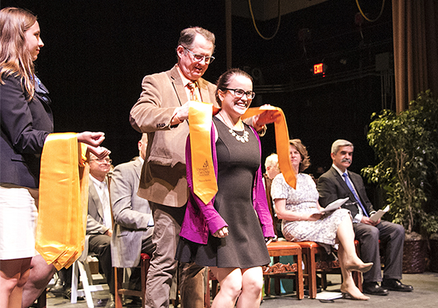 Honors Convocation 2019 - Honors Program student