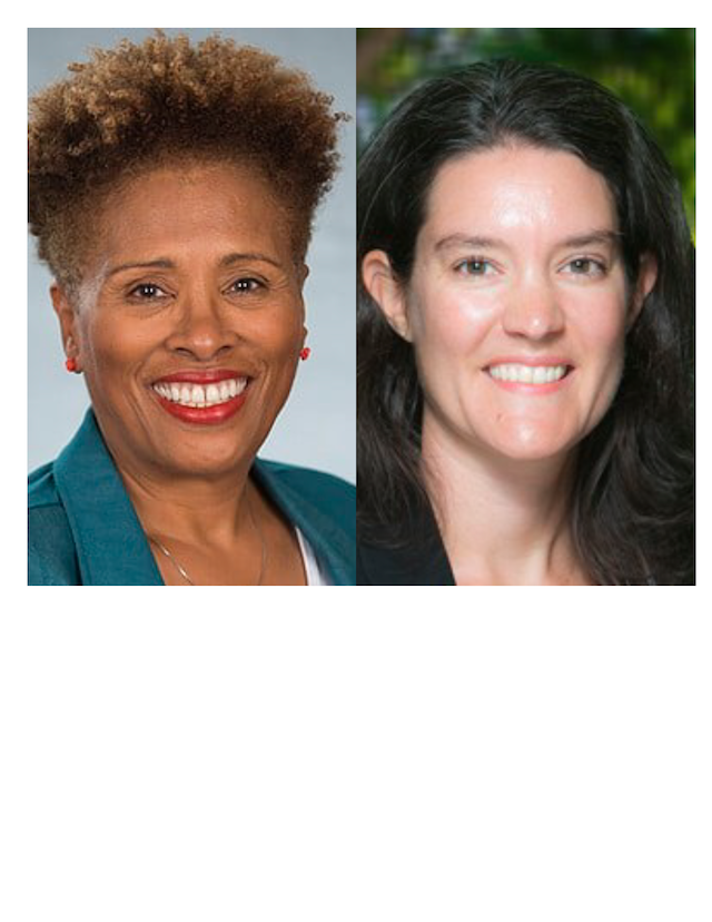 Headshots of Dr. Teel and Dr. White