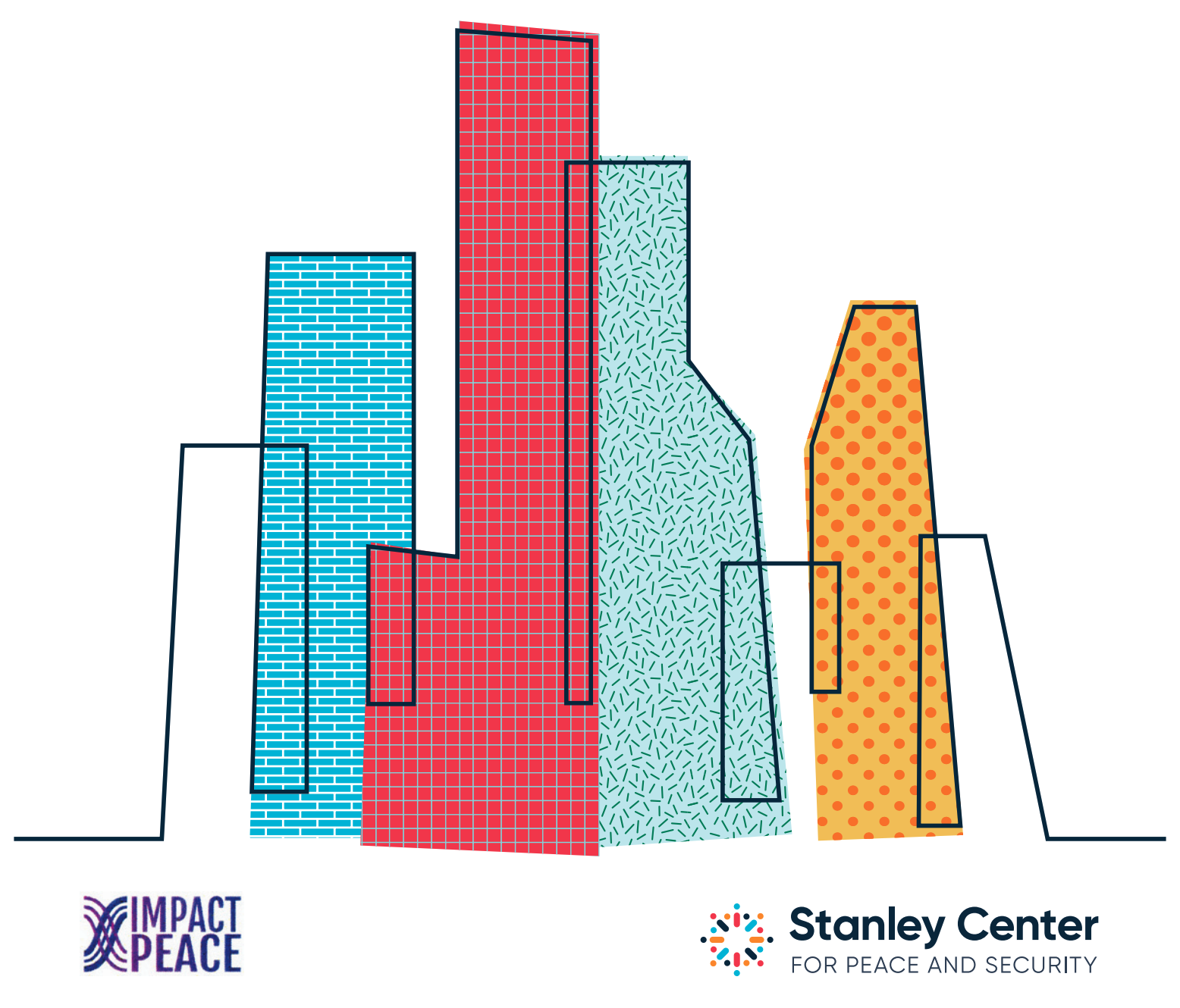 Stanley Center and Impact:Peace - city skyline