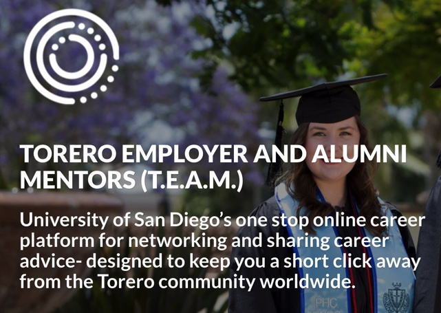 Torero Employer and Alumni Mentors (T.E.A.M.)
