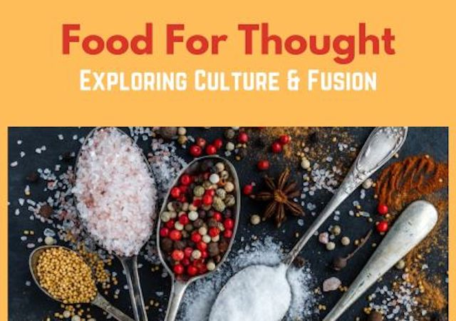 Flyer for Food for Thought